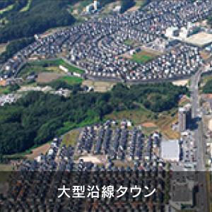 大型沿線タウン